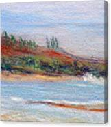 Moloa'a Beach Canvas Print