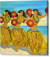 Moloka'i Hula Canvas Print