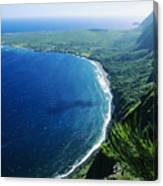 Molokai, View Canvas Print