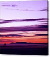 Moments Before Sunrise Canvas Print