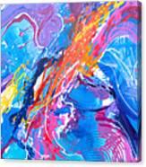 Momentum V Canvas Print