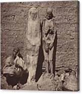 Momies Egyptiennes (egyptian Mummies) Canvas Print