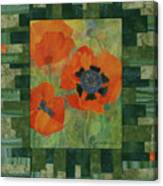 Mom's Poppies Canvas Print