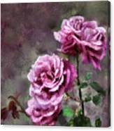 Moms Roses Canvas Print