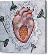 Mon Coeur- Where The Honeybees Live Canvas Print