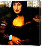 Mona Cher Canvas Print