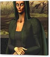 Mona Lisa Aien Canvas Print