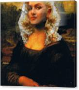 Mona Marilyn Canvas Print