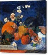 Mona Mona Savoureux Canvas Print