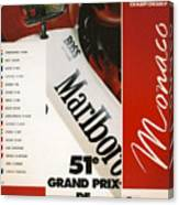 Monaco F1 1993 Canvas Print
