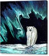 Monarch Of His Arctic Domain Canvas Print