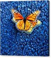 Monarchs Mating Canvas Print