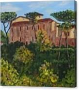 Monastero Canvas Print
