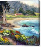 Monastery Beach, Carmel Canvas Print
