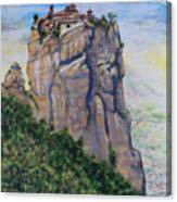 Monastery of Aghia Triada Canvas Print