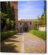 Monastery Of Saint Jerome Approach Canvas Print