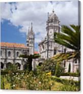 Monastery Of The Hieronymites Lisbon 6 Canvas Print