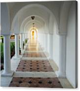 Monastic Tranquility Canvas Print