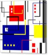Mondrian Redux Canvas Print
