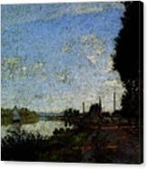Monet Argenteuil  Canvas Print