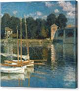 Monet: Argenteuil Canvas Print