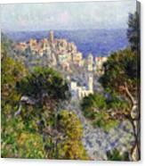 Monet: Bordighera, 1884 Canvas Print