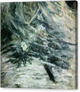 Monet Camille Monet On Her Deathbed Canvas Print