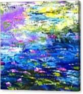 Monet Magic Canvas Print