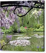 Monet Water Garden Canvas Print