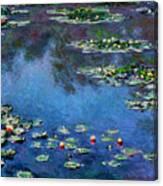 Monet: Waterlilies, 1906 Canvas Print