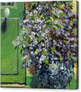 Monet's Entry Canvas Print