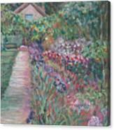 Monet's Gardens Canvas Print