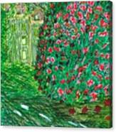 Monet's Parc Monceau Canvas Print