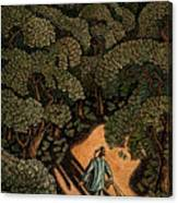 Money Forest Canvas Print