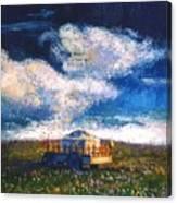 Mongolian Home Canvas Print