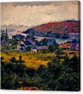 Monhegan Island Maine Canvas Print