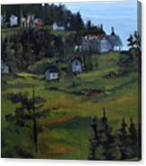 Monhegan View From Lighthouse Hill Canvas Print