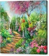 Monica's Garden Canvas Print