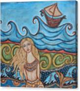 Monique Mermaid Canvas Print