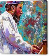 Monk Live Canvas Print