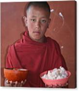 Monks Lunch Canvas Print