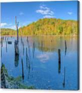 Monksville Reservoir Fall 2016 Canvas Print