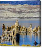 Mono Lake Spires Canvas Print