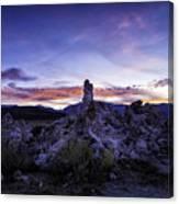 Mono Lake Sunset 4 Canvas Print