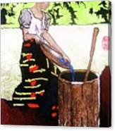 Monobo Chores Canvas Print