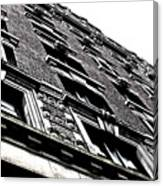 Monochromatic Facade Canvas Print