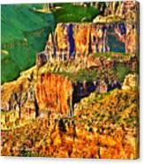 Monolith North Rim Grand Canyon Canvas Print