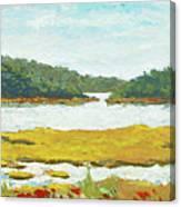 Monomoy River Canvas Print