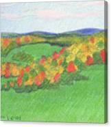 Monongalia County Autumn Canvas Print