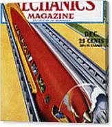 Monorail, C1940 Canvas Print
